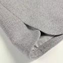 Vintage Jewel Neck Long Sleeves Color Block Pocket Woolen Dress For Women