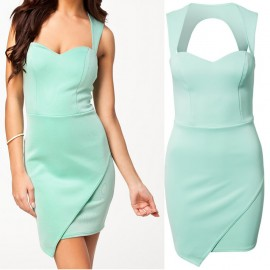 Fashion Party Dress Women's Clothing Summer Mini Dress Sexy Bodycon Bandage Dress 9130