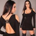 Fashion Women Sexy Off Shoulder Long Sleeve Bodycon Clubwear Mini Dress Party Dress N079
