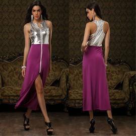 XXL Plus Size Vestido Longo Sexy Novelty Dresses  Women Clothing Irregular Panel Sexy Casual Party Dresses for Women XY0001