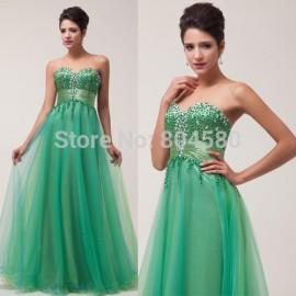 Stock Strapless Off-Shoulder Long woman dance dress Elegant Design Evening dresses Cheap Prom Party Gown CL6063 (AL12)
