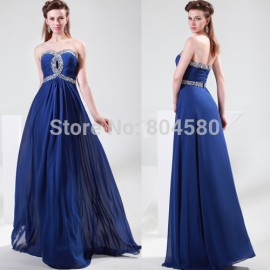 4 Colors Elegant Customized Open Back Long Prom Dress 2015 Formal Evening Dresses Latest Design Birthday Party Gown CL4413