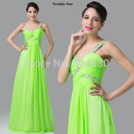 Elegant Design Grace Karin Sleeveless Chiffon Prom Formal Evening dress Party Gown  Long Celebrity dresses Women CL6237