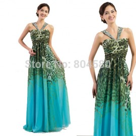 Elegant Floor length Women Summer Beach Ball Evening dress Long Maxi Party Gown Formal dresses for Special occasion CL7546