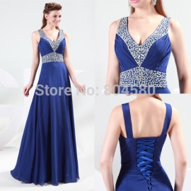 Fashion Party Dress Sexy Elegant Sleeveless Evening Prom Dresses formal gown CL4410