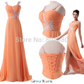 Fashion Celebrity Dresses Chiffon prom Dress Women's Party Dresses Long Evening Gown CL6045
