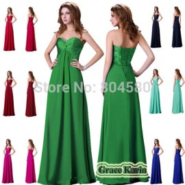Strapless Beading Sexy Royal Blue Prom Party Evening dress 8 Sizes CL4101