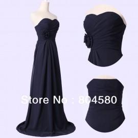 High Quality Grace karin Off Shoulder Sweetheart Chiffon Bridal gowns Flower Evening Dress Prom Night Dress CL3442