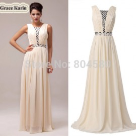 Hot Selling Top Quality Floor-Length Chiffon Celebrity Dresses Formal Prom Dress  Long Evening Gowns CL6019