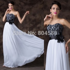 Hot selling Strapless Floor Length Lace evening gown long prom dresses party Elegant homecoming dresses CL6203
