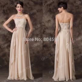Summer Winter Season vestidos de fiesta A Line Chiffon Prom Long dress Women Casual Evening dresses Formal Party Gown CL6259