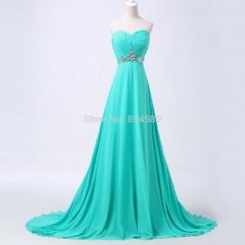 Grace Karin Floor Length Fashion Women Wedding party Gown Long Bridesmaid dresses Sleeveless Formal dress CL6290