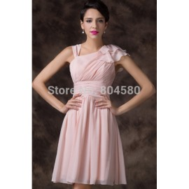 Ruffles A Line Lace Up Back Tutu Party dresses Ball Prom Gown Short Women Cocktail dress Winter Frozen Wholesale CL6221