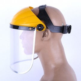 Face Masks Protection Cover Clear Safety Protective Cover Head-mounted Face Eye Shield Screen Grinding