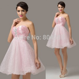 Arrived Off Shoulder Cocktail Dress Short Homecoming Party Prom Dresses Women Debutante Gown CL6141