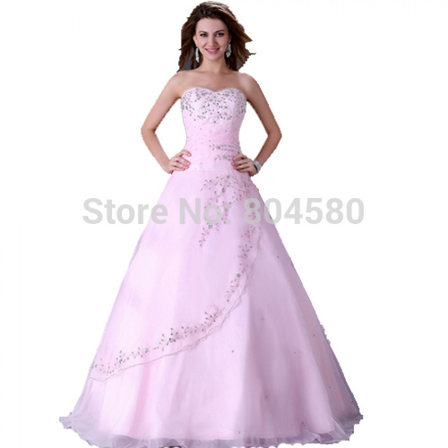 Grace Karin Floor Length Prom Ball Gown Dress Long Wedding