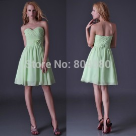 High Quality! Free shipping Grace Karin Sexy Stock Strapless Homecoming Party Prom gown dress short Cocktail Dresses 2015 CL3473