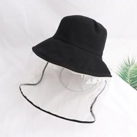 Kid Bucket Hats Summer Anti-spitting Protective Cap Cover Outdoor Fisherman Hat Splash-Proof Unisex Girl Boy