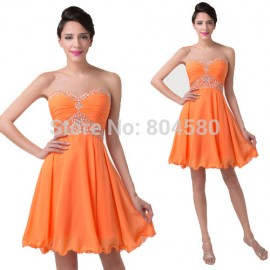 Lovely Autumn Winter Casual dress  Sexy Sleeveless Women Novelty Short Prom Gown Formal Party Cocktail Dresses CL6282