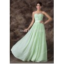 Real Imagine Off the Shoulder Green color Chiffon Bridesmaid dresses Cheap Party dress Long Gown  CL6238